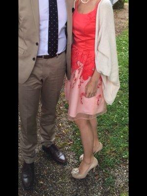 Asos Kleid Pferderennen Hochzeit Tüll Satin Blüten