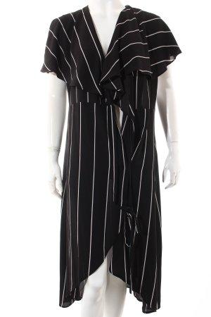 Asos Kleid schwarz-weiß Beach-Look
