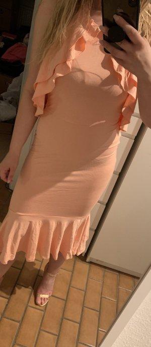 Asos Midi Dress nude