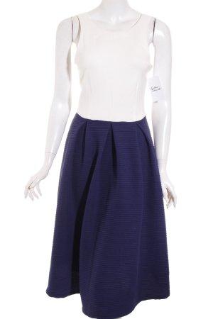 Asos Kleid weiß-blau klassischer Stil