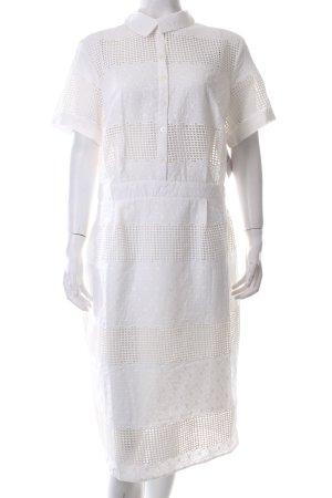 Asos Kleid weiß Blumenmuster klassischer Stil