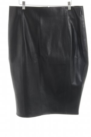 Asos Rok van imitatieleder zwart extravagante stijl