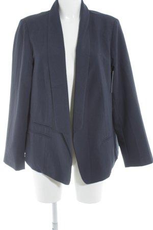 Asos Kurz-Blazer dunkelblau Business-Look