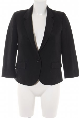 Asos Kurz-Blazer schwarz Business-Look