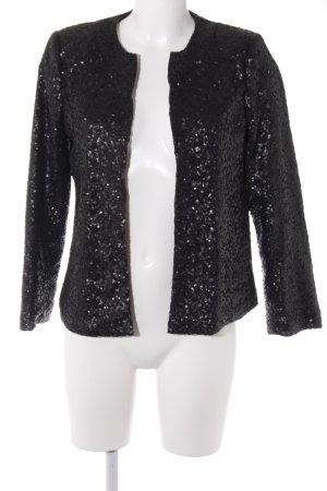 Asos Kurz-Blazer schwarz-grau Elegant