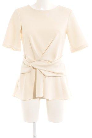 Asos Kurzarm-Bluse creme Elegant