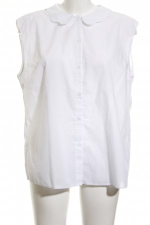Asos Short Sleeved Blouse white business style