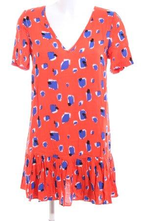 Asos Shortsleeve Dress abstract pattern casual look