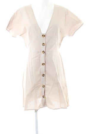 Asos Shortsleeve Dress oatmeal casual look