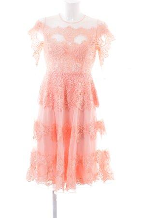Asos Kurzarmkleid pink Vintage-Look