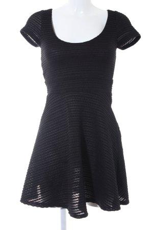Asos Kurzarmkleid schwarz Elegant