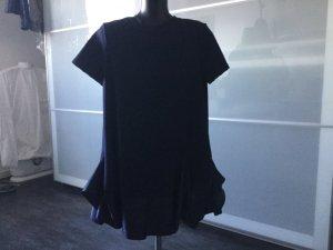 Asos Petite Mini vestido azul oscuro