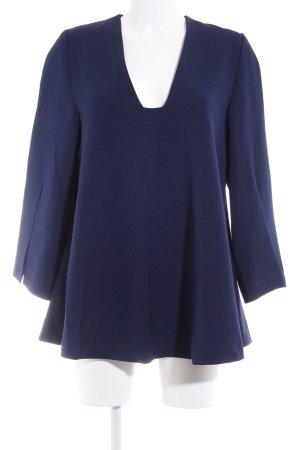 Asos Langarm-Bluse dunkelblau Casual-Look