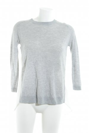 Asos Long Sleeve Blouse light grey-natural white '20s style