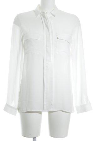 Asos Long Sleeve Blouse white elegant