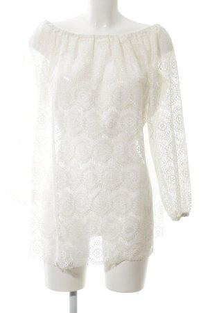 Asos Camicetta a maniche lunghe bianco stile romantico