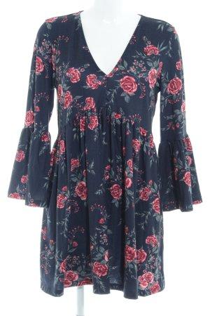 Asos Langarmkleid Blumenmuster Romantik-Look