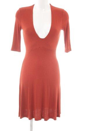 Asos Longsleeve Dress russet elegant