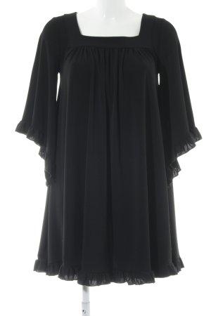 Asos Langarmkleid schwarz Elegant