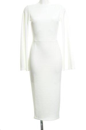 Asos Jurk met lange mouwen wit elegant