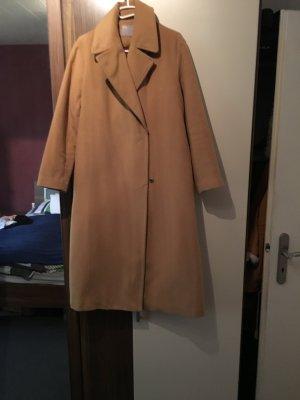 Asos Langer Mantel Größe 38 Hellbraun Beige