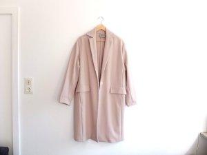 Asos langer oversized Trenchcoat Gr. 40 nude rosa staub