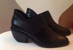 Asos Leder Boots, Stiefelette, Gr. 40