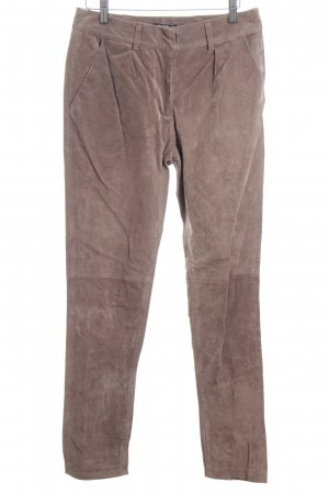 Asos Leather Trousers light brown leather-look