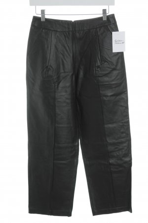 Asos Lederhose schwarz Casual-Look