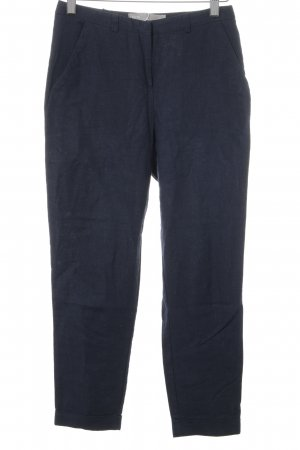 Asos Linen Pants dark blue casual look