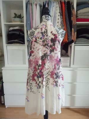 Asos Lipsy Kleid Hochzeit Chiffon Sommer Party Lila Rosa Weiß Neckholder M 38