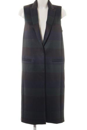 Asos Blazer long motif rayé style simple