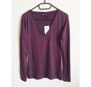 Asos Longsleeve Shirt burgund