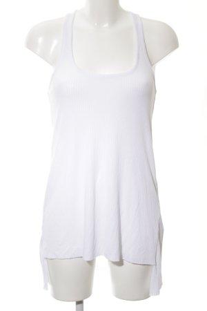 Asos Top largo blanco look Street-Style