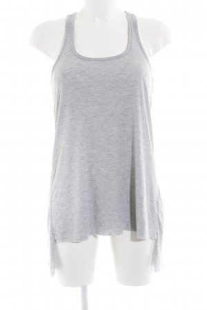 Asos Long Top light grey athletic style