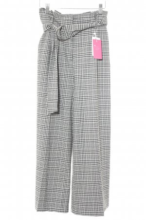 Asos Marlene Trousers black-white shepherd's check pattern casual look