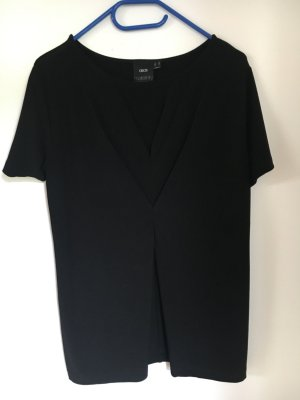 Asos V-hals shirt zwart