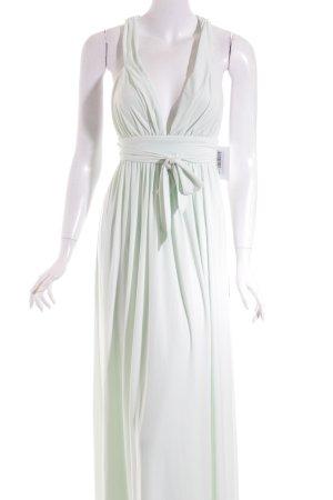 Asos Maxikleid blassgrün schlichter Stil