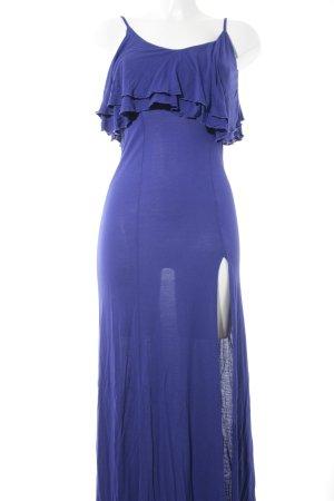 Asos Maxikleid blau-blauviolett Casual-Look