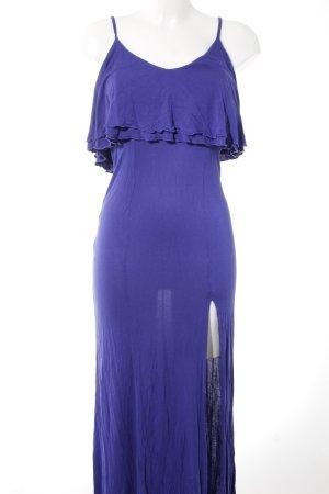 Asos Maxikleid blauviolett Casual-Look