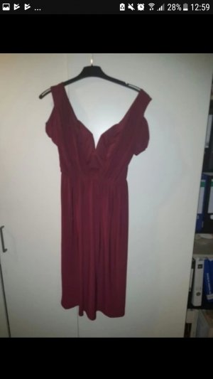 asos midi Kleid in schönem Lila (purpur) / bordeux