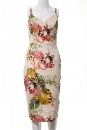 Asos Midi Dress flower pattern elegant