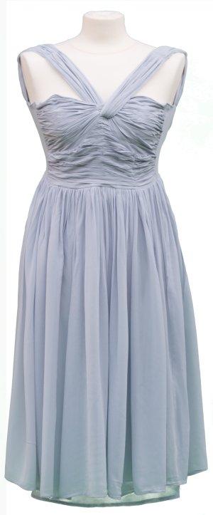 ASOS Midikleid Crossed Shoulder eisblau Abendkleid Henna Verlobung Abiball