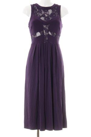 Asos Midikleid dunkelviolett Elegant