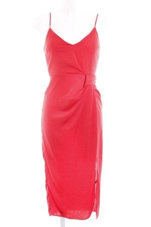 Asos Midi Dress red simple style