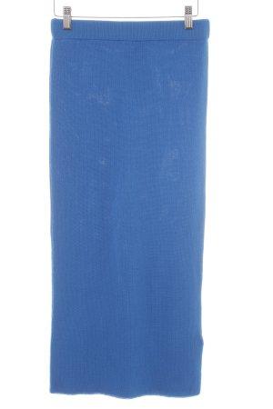 Asos Midi-rok neon blauw elegant