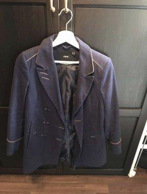 Asos Military Jacket blue