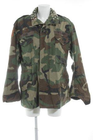 Asos Militair jack camouflageprint extravagante stijl