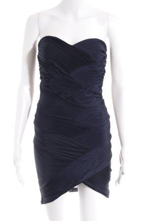 Asos Minikleid dunkelblau Elegant