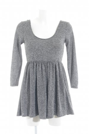 Asos Mini vestido gris-blanco moteado look casual